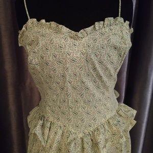 Vtg Gunne Sax 70's Prairie Sundress Dress 13